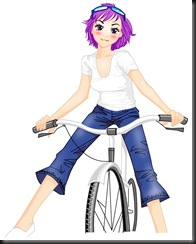 girl riding bike_fun