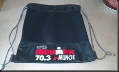 ironman 70. Muncie bag