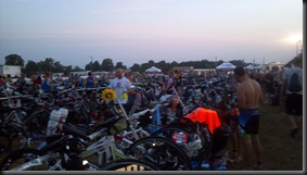 ironman 70. Muncie transition