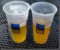 Cedar Point_beer_8-10-12