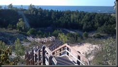 Dunes_stairs down lake_8-11-12