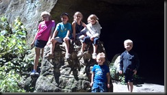 Mattessien State Park_kids on rock_Aug 2012