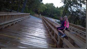 Goodenow Grove_kids bridge_9-21-12