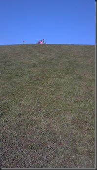 Goodenow Grove_kids on hill_9-15-12