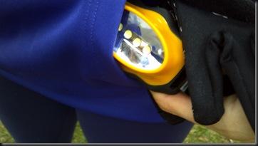 UA hoodie pocket