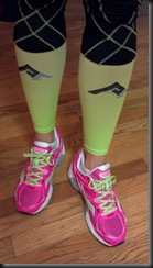 Pro Compression SLEEVES_green