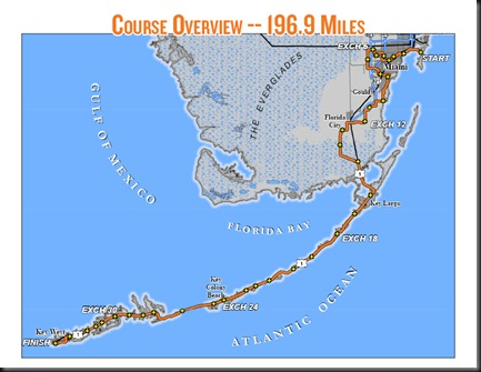 Ragnar FL Keys_course map