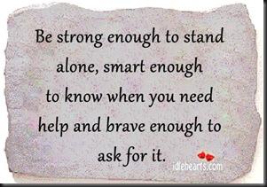 Strong Enough Smart Enough Brave Enough