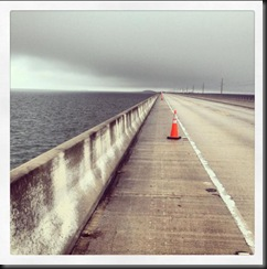 Ragnar Keys _bridge awaiting runners