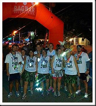 Ragnar Keys_team at finish