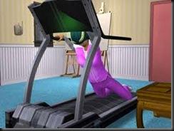 fall off treadmill