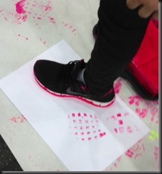 Aby Shoe Painting