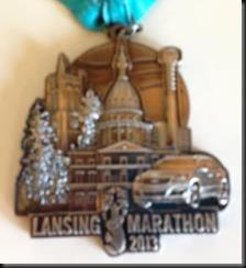 Lansing Marathon_medal