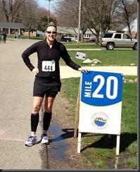 Lansing Marathon_mile 20
