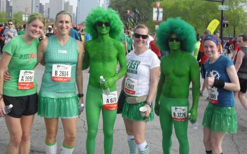 Nicole-Me- Green Men_Maggie_Kelly  sc 1 st  TooTallFritz & Shamrock ShamROCK SHAMROCK Shuffle Time!!! | TooTallFritz