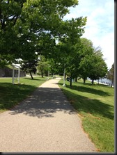 riverfront path