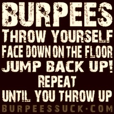 burpees suck