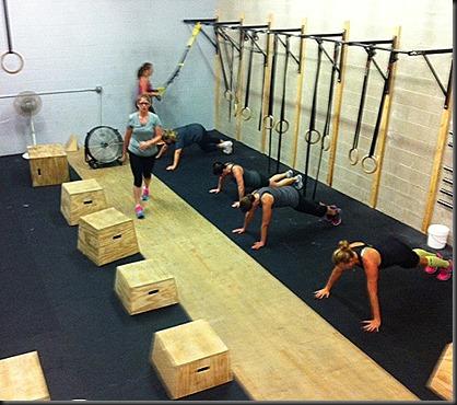 CrossFit_FNRC pushups_Blake WOD