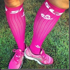 SLS3_compression socks_pink
