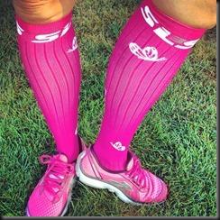 SLS3_compression socks_pink