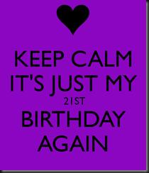 21 again