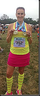 Chicago Half_2013_medals