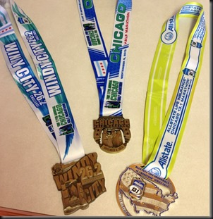 Chicago Half_2013 medal   Windy City Challenge