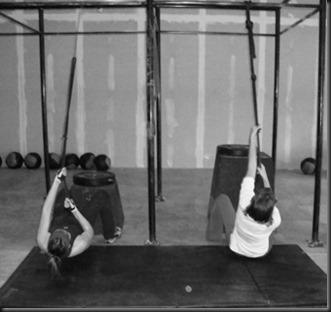 Reverse Rope Climb