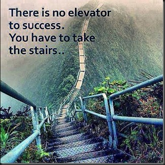 No Elevator to Success