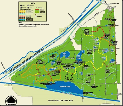 Palos Trail Map
