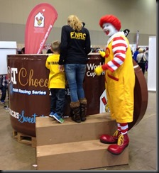 Hot Choc_2013_Ronald McDonald