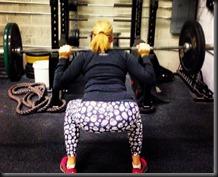 back squats 3