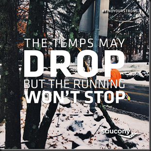 Temps Drop But Running Wont Stop