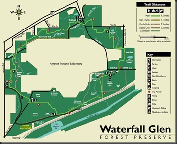 Waterfall Glen_map