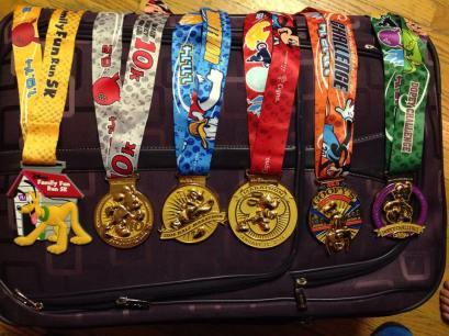 Dopey medals