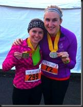 me & Kasey - medals