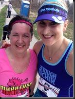 Carmel Marathon_julie & me