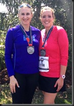 Carmel Marathon_me&katie