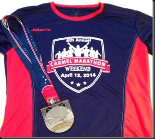 Carmel Marathon_swag