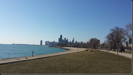 lakefront heading south