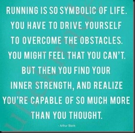 Running is Symbolic