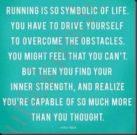 Running is Symbolic