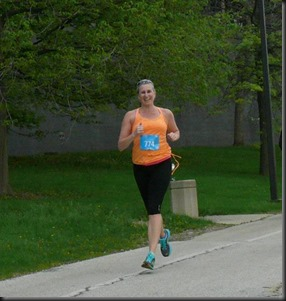 Chicago Spring Half_me running