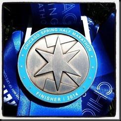 Chicago Spring Half_medal