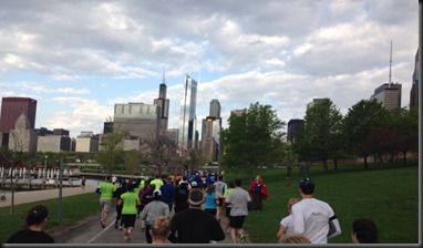 Chicago Spring half_views