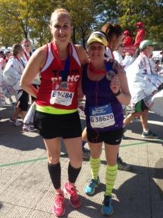 CHI Marathon_me & Julie