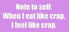 eat like crap