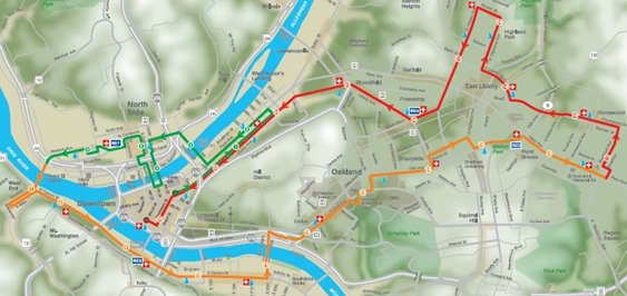 PGH Course map
