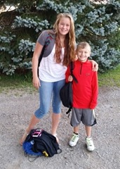 Aby & Michael - First Day of School - 2015