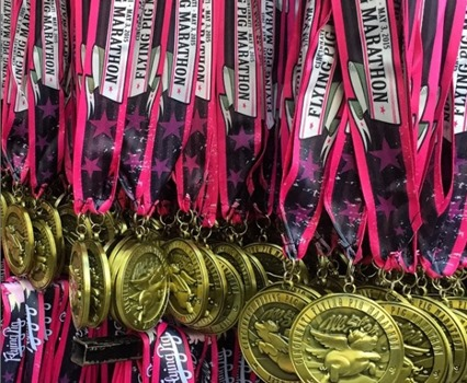 Flying Pig_2015 medals